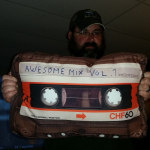 Cassette Tape Pillow: Awesome Mix Vol. 1