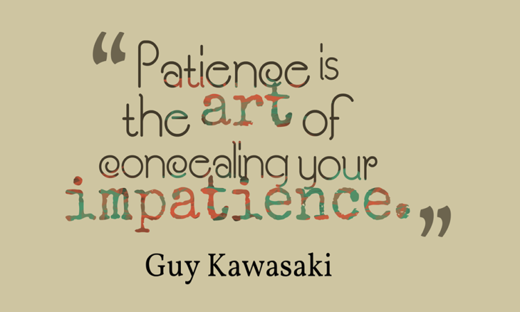 Motivation Monday: Patience